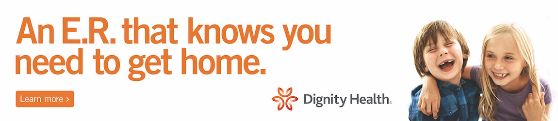 Dignity Health - An E.R. that knows you need to get home.